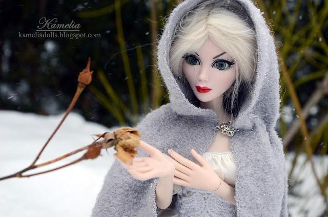 Evangeline Ghastly in winter.