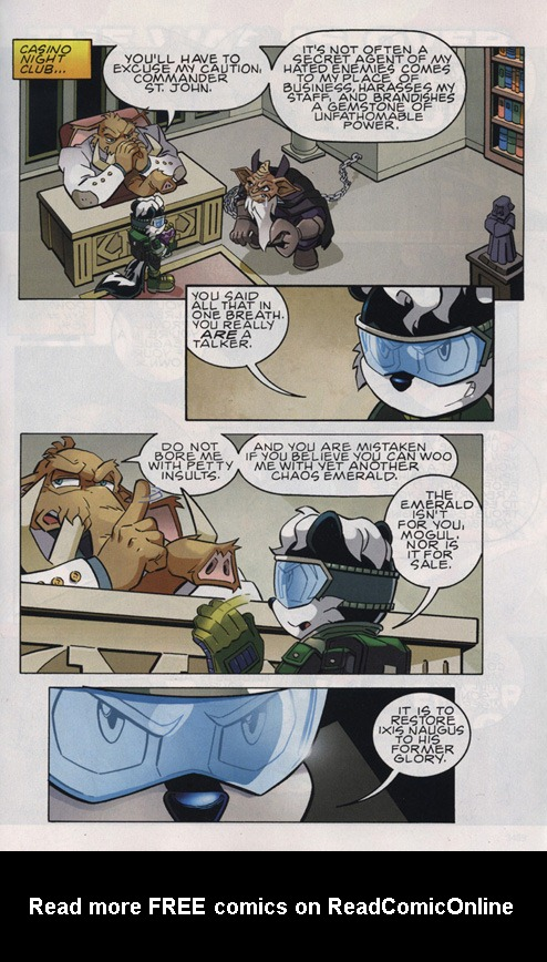 Read online Sonic The Hedgehog comic -  Issue #220 - 4