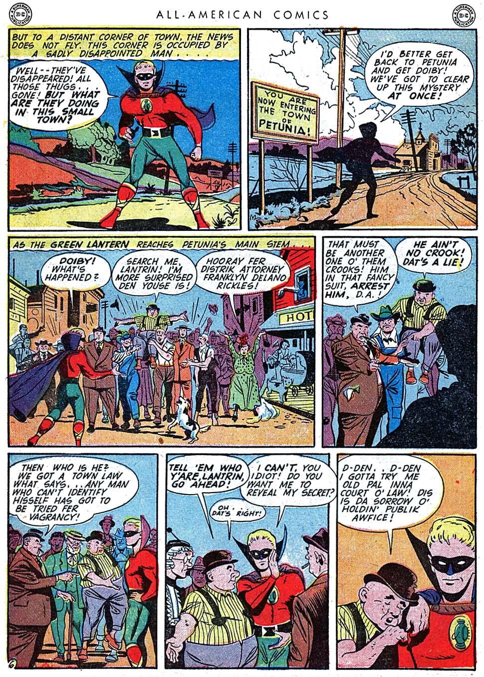 Read online All-American Comics (1939) comic -  Issue #62 - 8