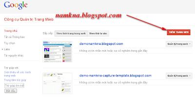 Tạo site map hỗ trợ SEO và page rank cho blogspot  Bài 4. Blogger – Hướng dẫn SEO cho Blog submit sitemap for blogspot de tang seo gap nhieu lan cai thien page rank namkna blogspot com 4