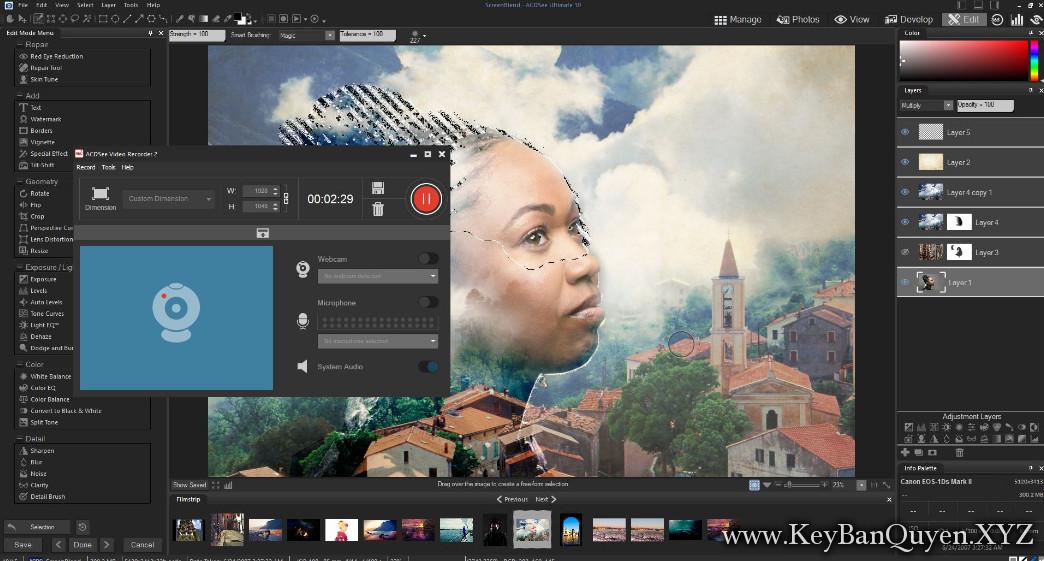 ACDSee Video Studio 3 Full Key Download, Phần mềm Chỉnh sửa video & ghi hình màn hình một cách dễ dàng