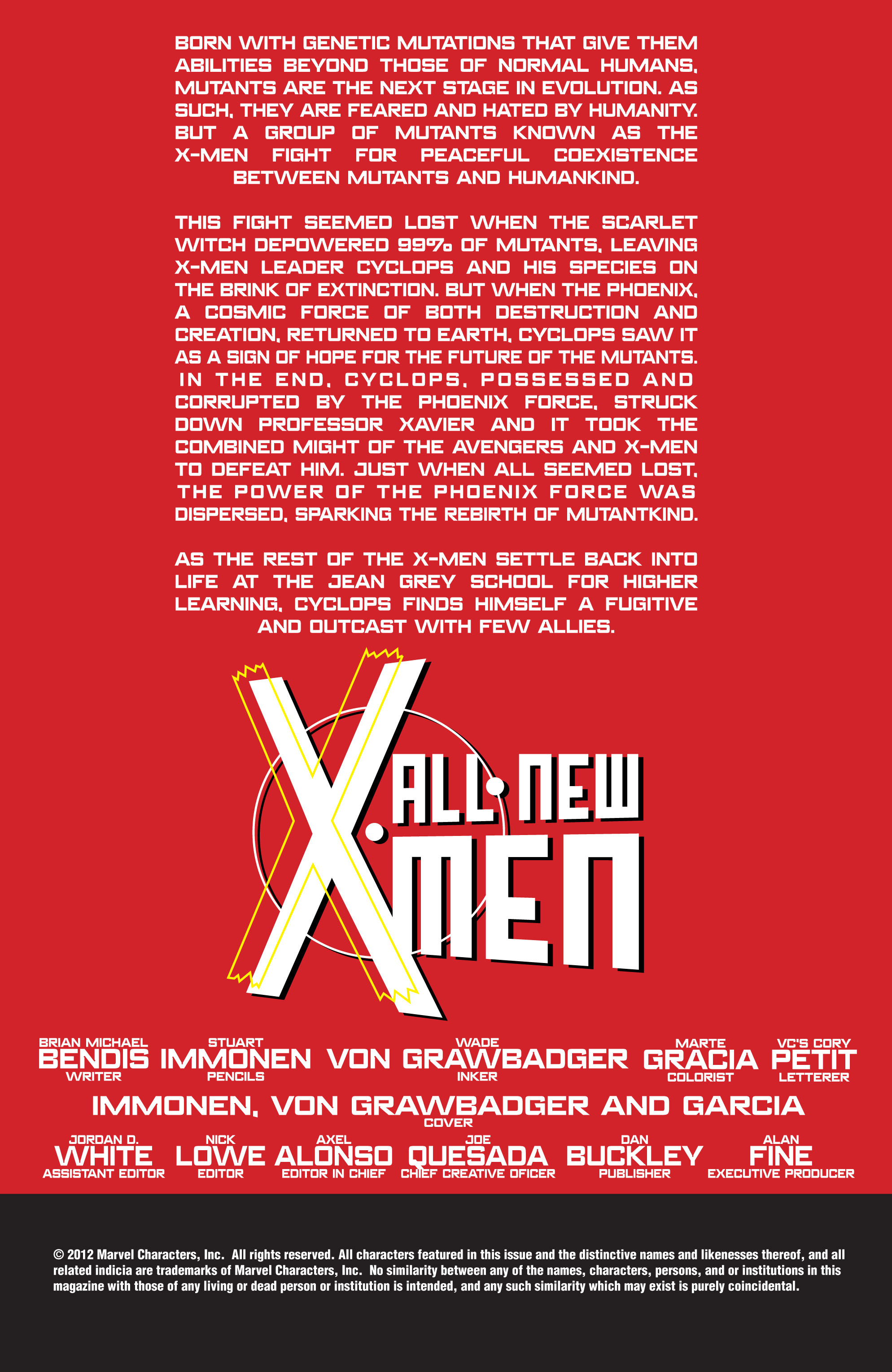 Read online All-New X-Men (2013) comic -  Issue # _Special - Yesterday's X-Men - 5