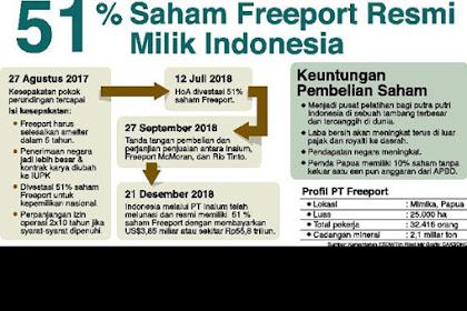 Syukurlah Jokowi Memecat Sudirman Said, Jika Tidak, Saham Freeport Hanya 30%