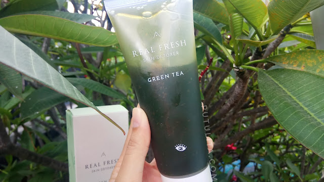 [REVIEW] Althea Real Fresh Skin Detoxer Green Tea, maskeran cuma 10 DETIK!