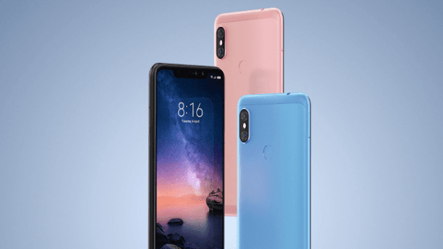 Xiaomi Redmi Note 6 Pro With Snapdragon 636 and dual Selfi Camera