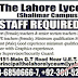 The Lahore Lyceum (Shalimar Campus) Lahore Jobs