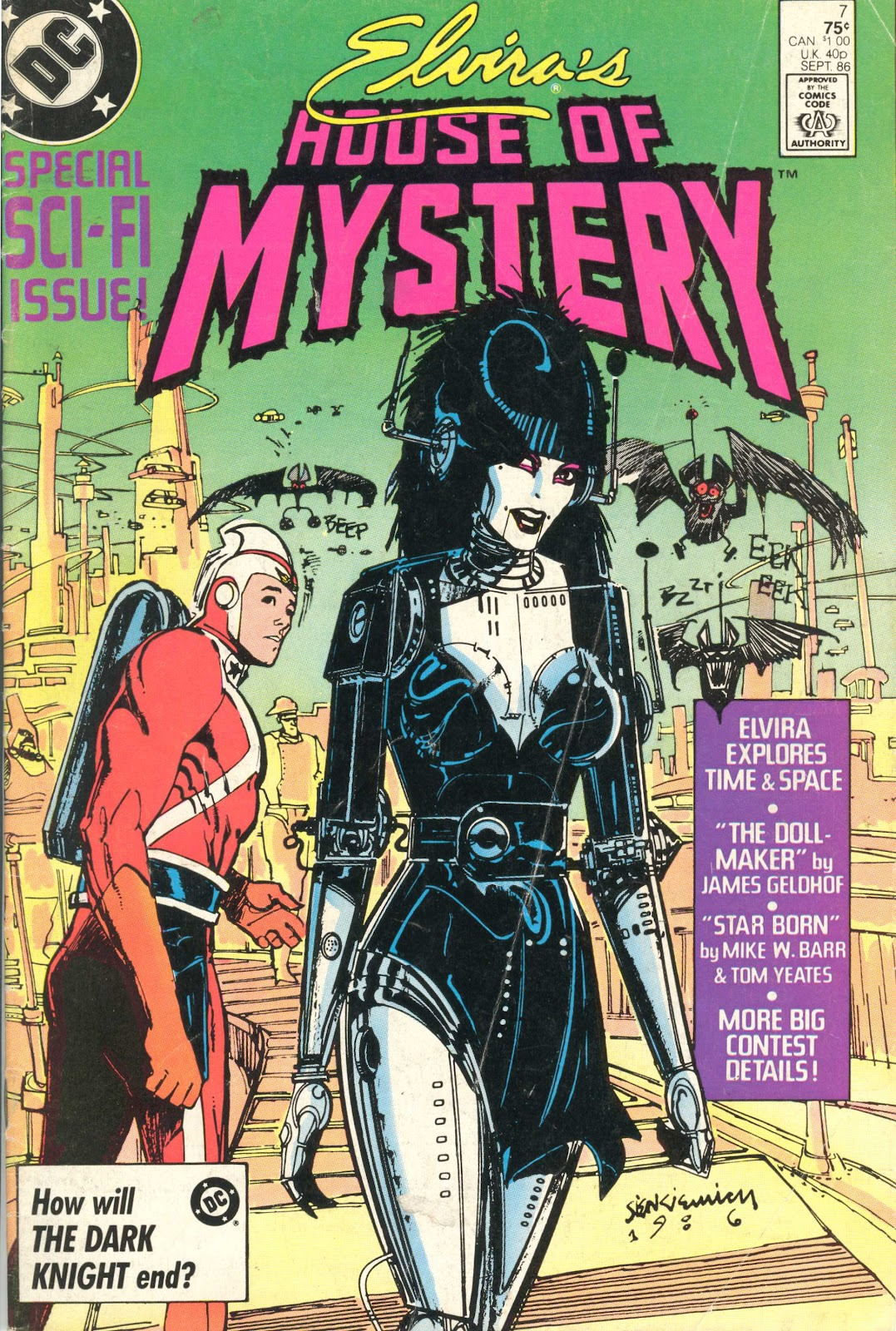 Elvira's House of Mystery Issue #7 #8 - English 1