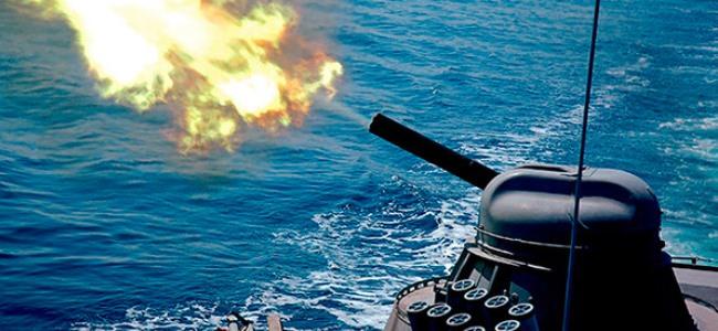 АК-630 - Зенитная корабельная 30-мм шестиствольная установка