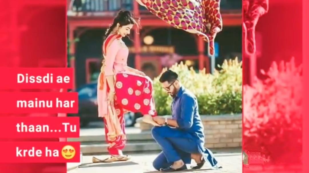 Valentine's Day Tenu Tak Tak whatsapp video status download