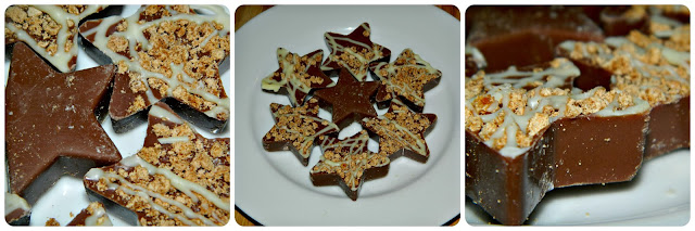 Tesco Collection Milk Chocolate Gingerbread Stars