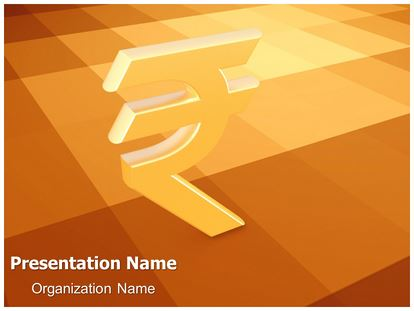 indian rupee 3d animated ppt template, Powerpoint templates