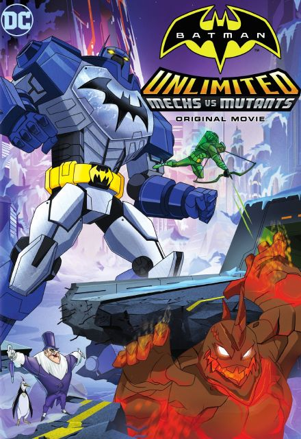 Batman Sem Limites: Mechas vs. Mutantes Torrent