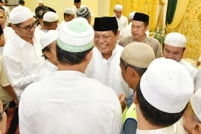 Paman Birin Lanjutkan Safari Ramadhan di Masjid Baiturrahman Banjarmasin