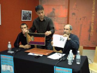 Caspe. 19 de noviembre de 2011. Presentación de la bandera del Consejo de Aragón...