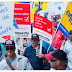 Canada Post employees protest at Trudeau's Montreal office