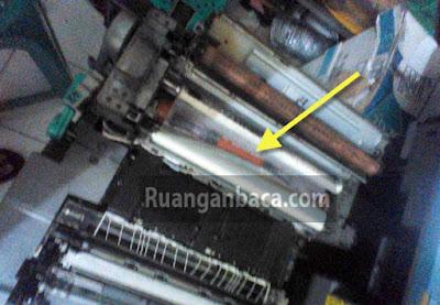 Mengatasi Fotocopy Terlalu panas claning web terbakar Canon IR