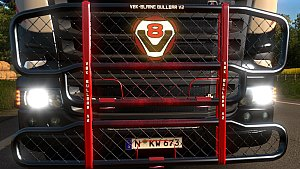 V8K-Blaine Paintable Bullbar mod V2