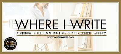 Where I Write: Take a look behind the books of New York Times and USA Today bestselling authors!