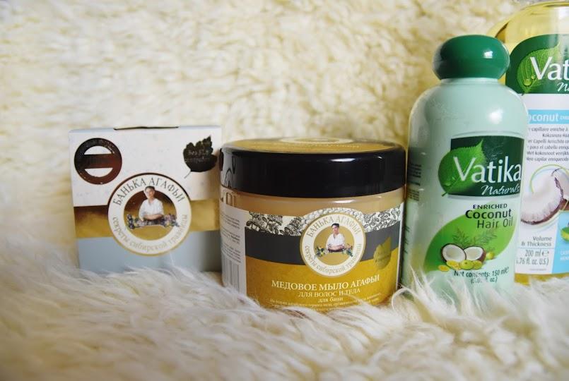 Naturalne cuda | Bania Agafii - mydło miodowe do ciała i włosów