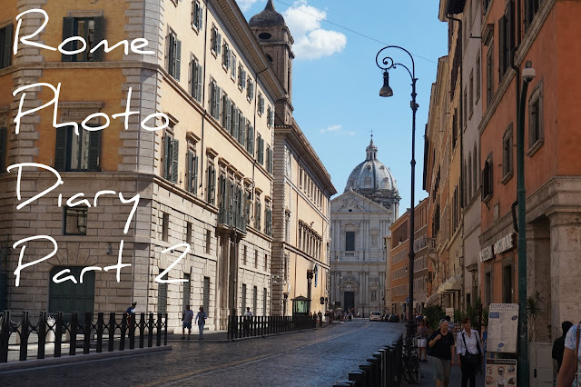 Streets of Rome photographs
