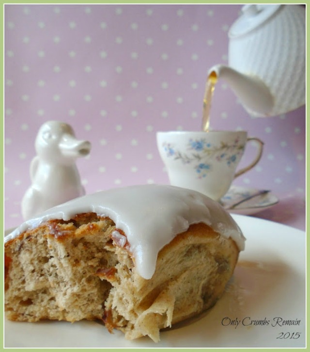Barm Brack Iced Fingers finished with a simple water icing