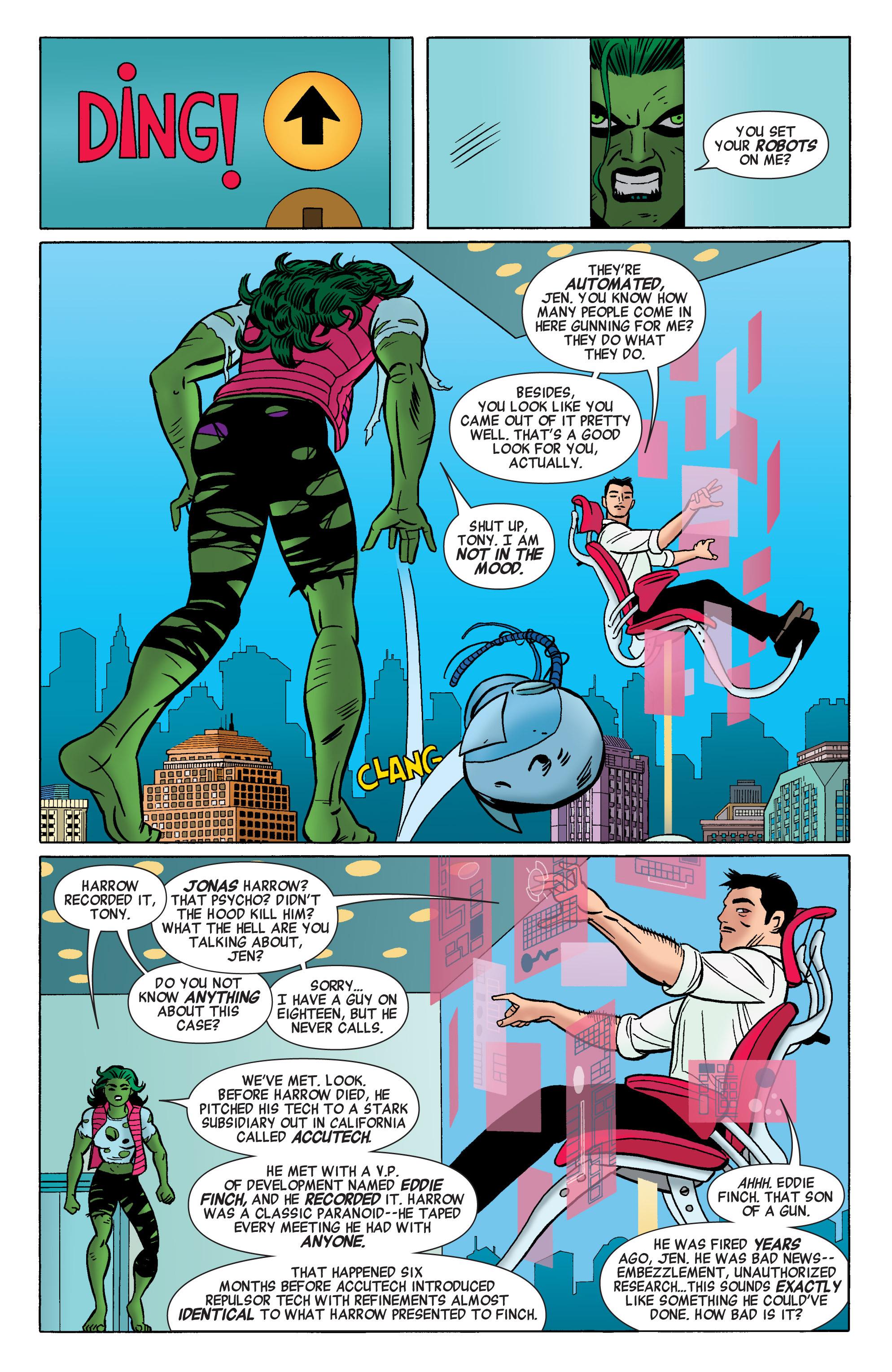 Read online She-Hulk (2014) comic -  Issue #1 - 17