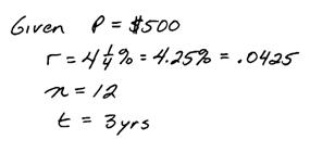 OpenAlgebra.com: Interest Problems