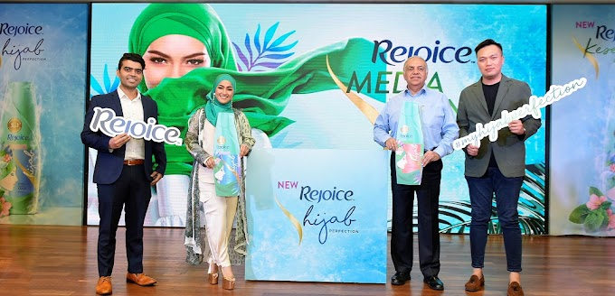 Rejoice Lancarkan Hijab Perfection Series' Untuk Hijabista!