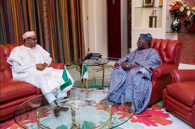 obasanjo meets buhari
