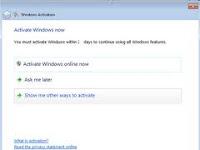 Cara Activasi Windows 7 Dengan menggunakan Removewat