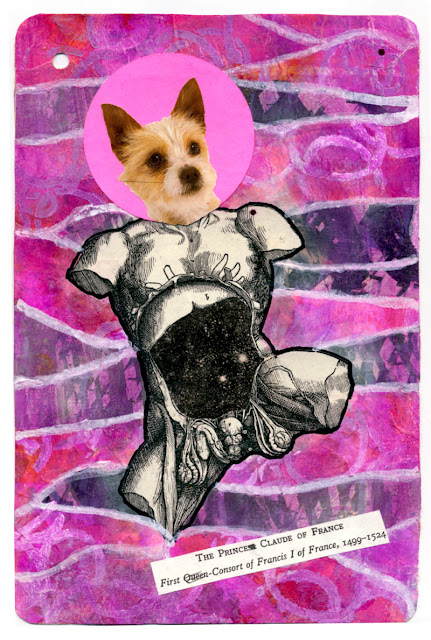 Divine dog collages