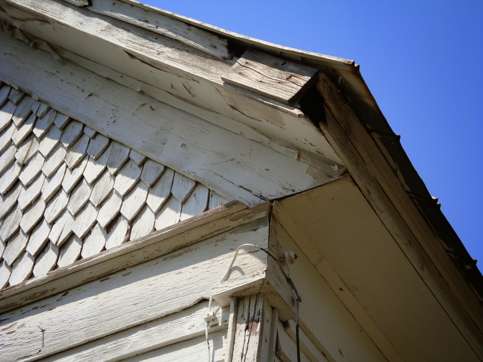 The Ledford Colley House Siding And Gables And Eaves
