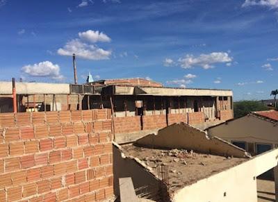 Prefeitura de Sumé constrói mais uma escola e investe na melhoria da Educação