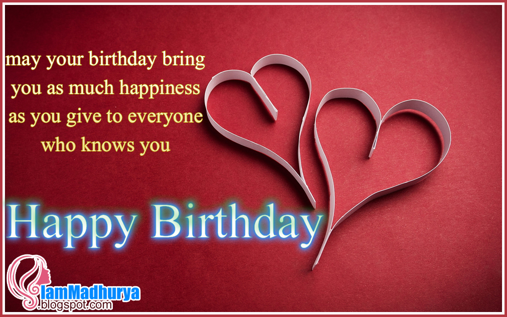 English happy birthday wishes greetings messages madhuryas world english happy birthday wishes greetings wallpapers message m4hsunfo Images