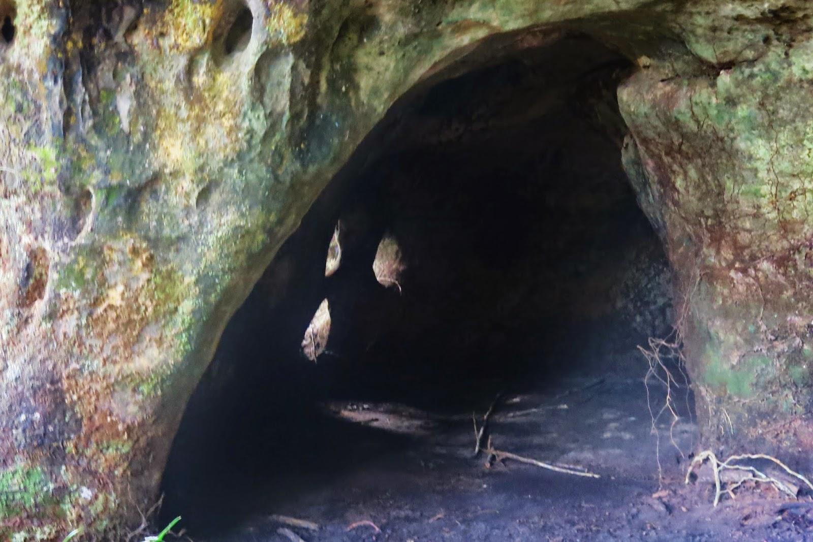 Grutas na Cachoeira da Iracema, em Presidente Figueiredo