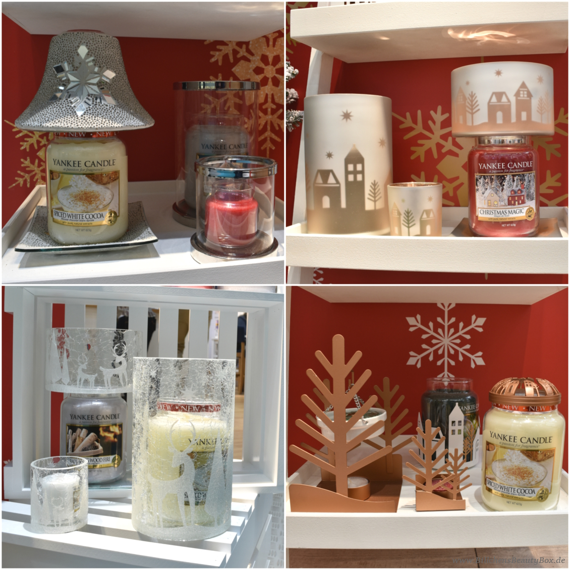 Yankee Candle - The Perfect Christmas Kollektion und Accessoires
