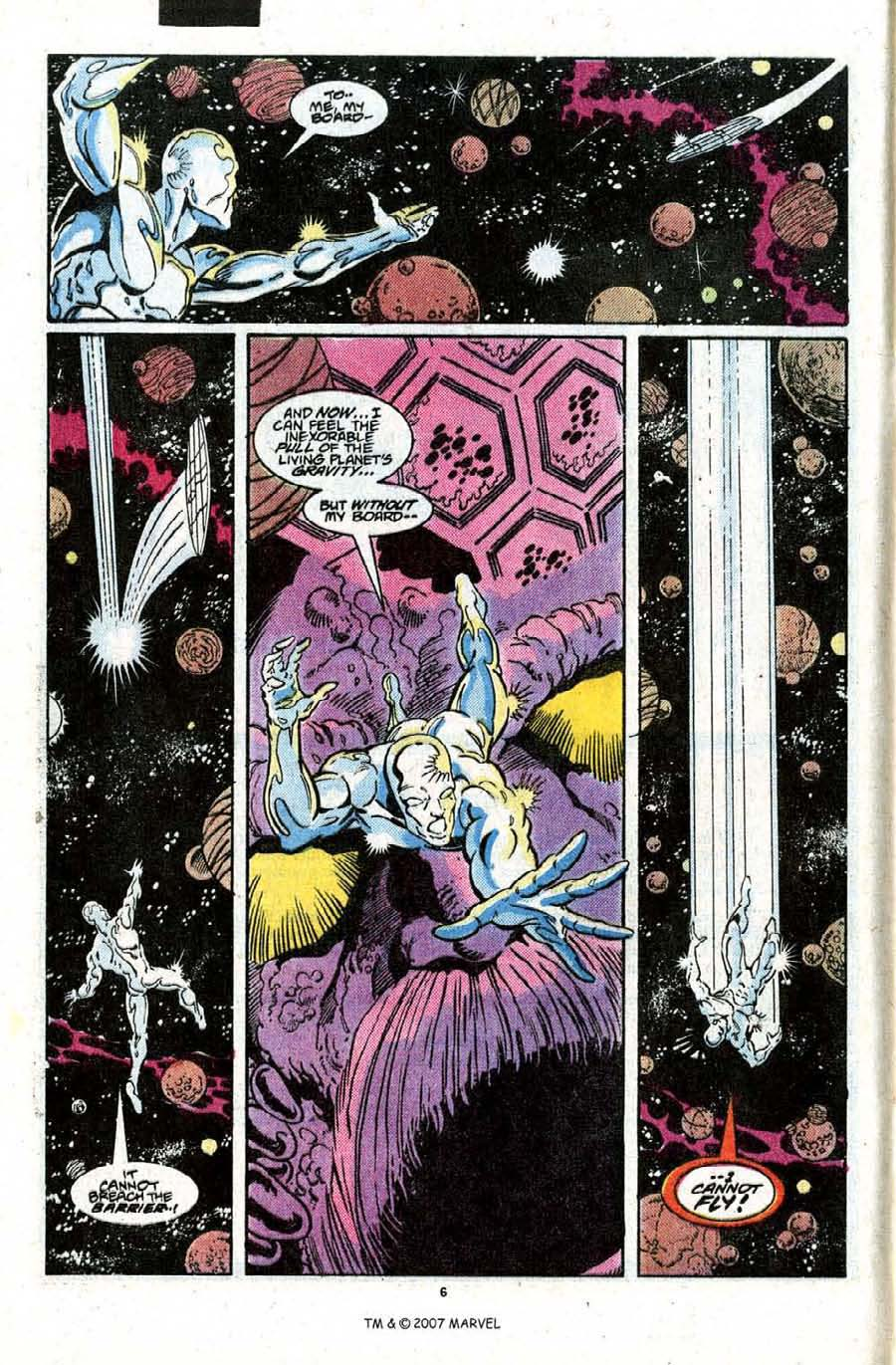 Read online Silver Surfer (1987) comic -  Issue #22 - 8