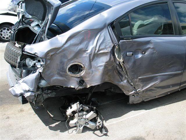 Very Badly Crash Of A Smart Car Photos
