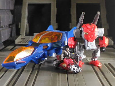 Takara Tomy Diaclone Reboot Powered-Suit Set A and Dia-Battles v2 Photos