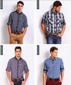 Buy 1 Get 1 Free Offer on Roadster Shirts + Extra 50% Off (Buy 2 Roadster Shirts worth Rs.2498 for Rs.682 Only)