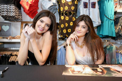 Kendall and Kylie Jenner Launch Exclusive Summer Collection at PacSun