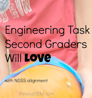 Second graders will love this pumpkin  engineering opportunity! Comes with NGSS alignment so it can be used in the classroom or at home.