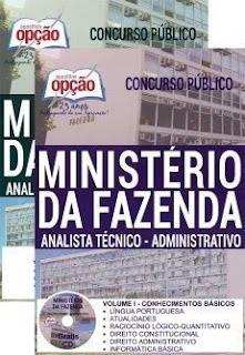 Baixar Apostila Ministério da Fazenda 2019 PDF Download