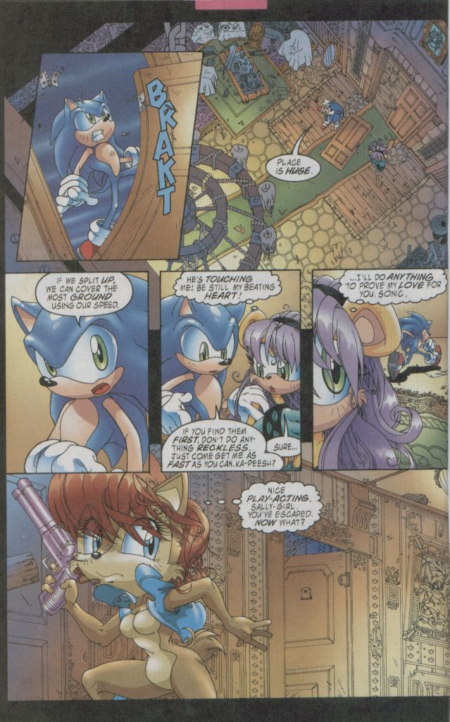 Read online Sonic The Hedgehog comic -  Issue #123 - 7