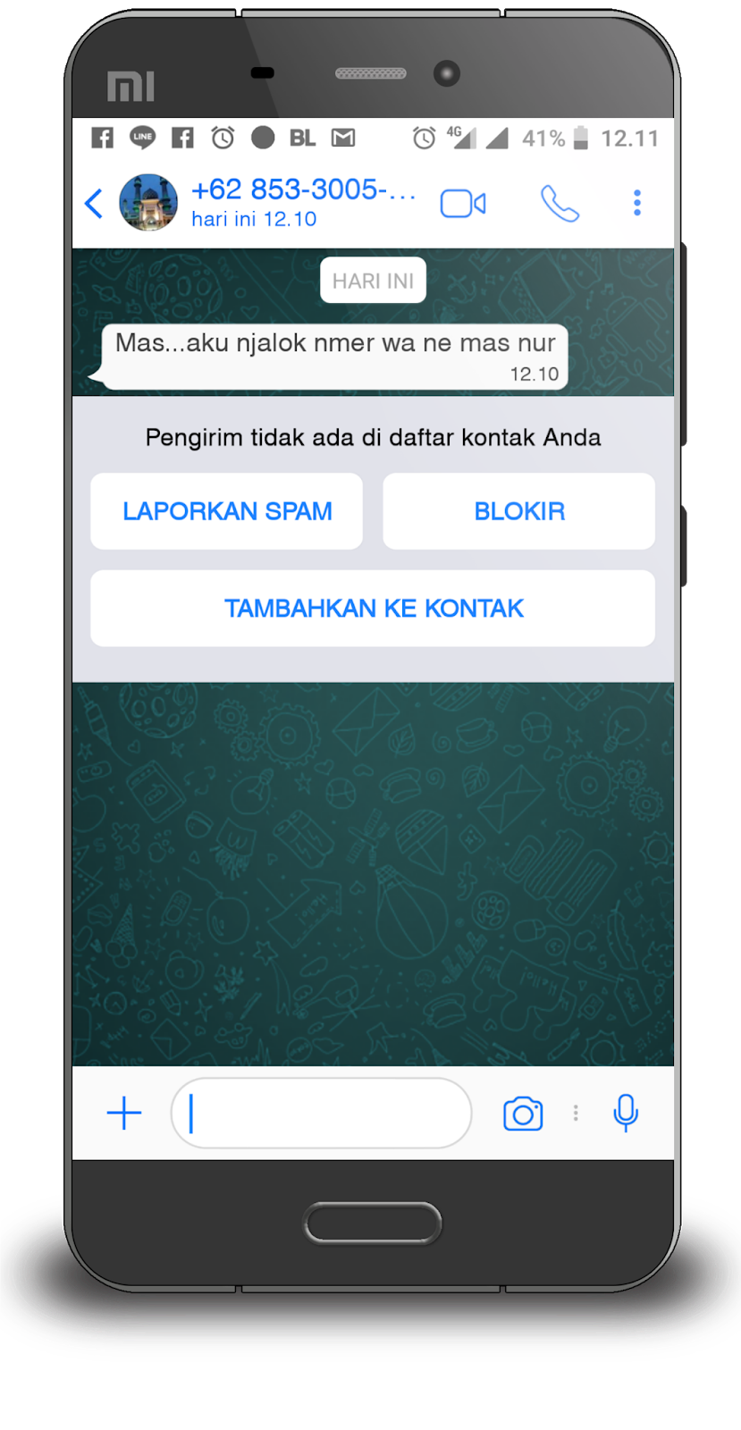 Download WhatsApp Mod IOS 12 Terbaru RC-YoWa V 7 70 di Semua