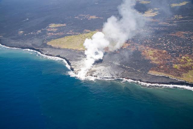 Playa Kilauea en Hawái