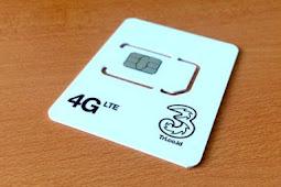 Cara Upgrade Kartu Tri 3G ke 4G Mudah