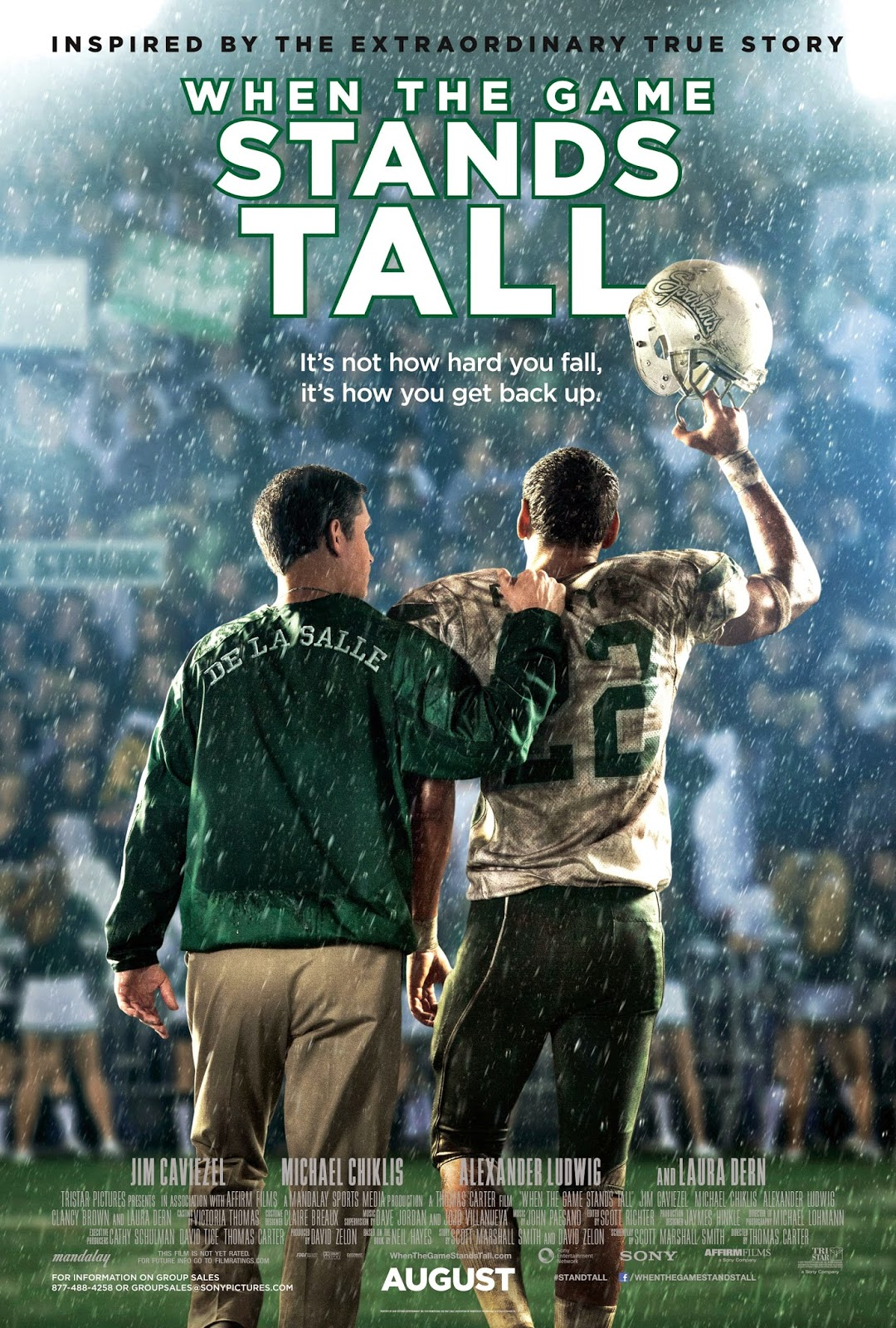 When the Game Stands Tall เกมวัดใจเพื่อชัยชนะ [HD]