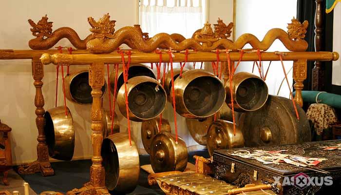 Gambar Contoh Alat Musik Ritmis Gong