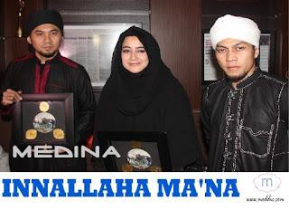 Lirik lagu Medina Innallaha maana feat umi Pipik Dian Irawati